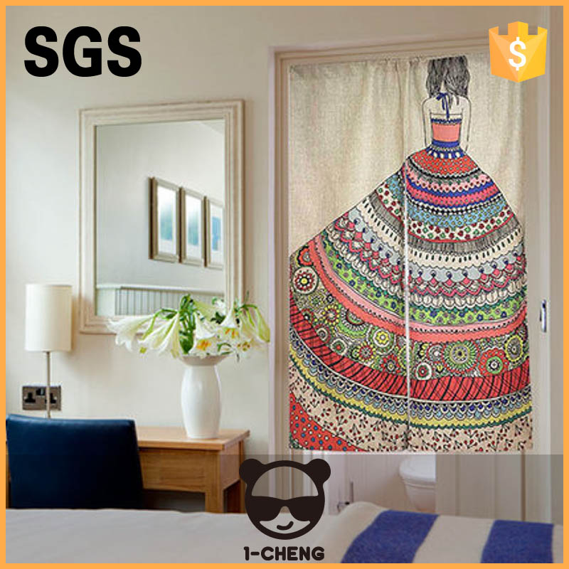 Creative National Curtain Home Decorative Door Curtain Cool Hangings Portiere