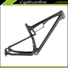 LightCarbon 29er full suspension carbon frame for mtb bike carbon frame 29er suspension