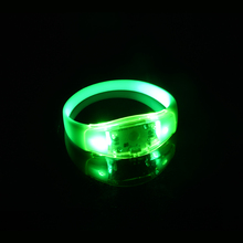 New Design Most Popular Motion Sound Activated Led Wristband Party Flash Led Bracelet