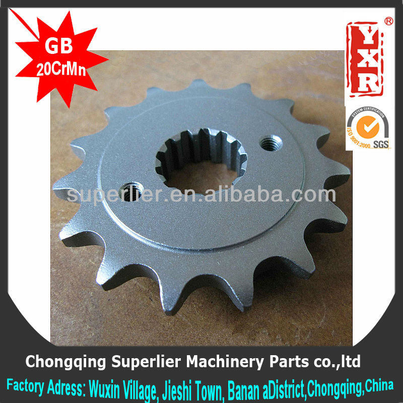 burma hao jue forged chain sprocket,CG 150 KS motorcycle transmission parts,Boxer CT gear sprocket