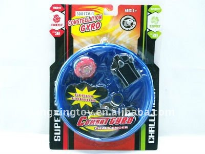 hot sell pull ruler spinning top(1pcs) with arena
