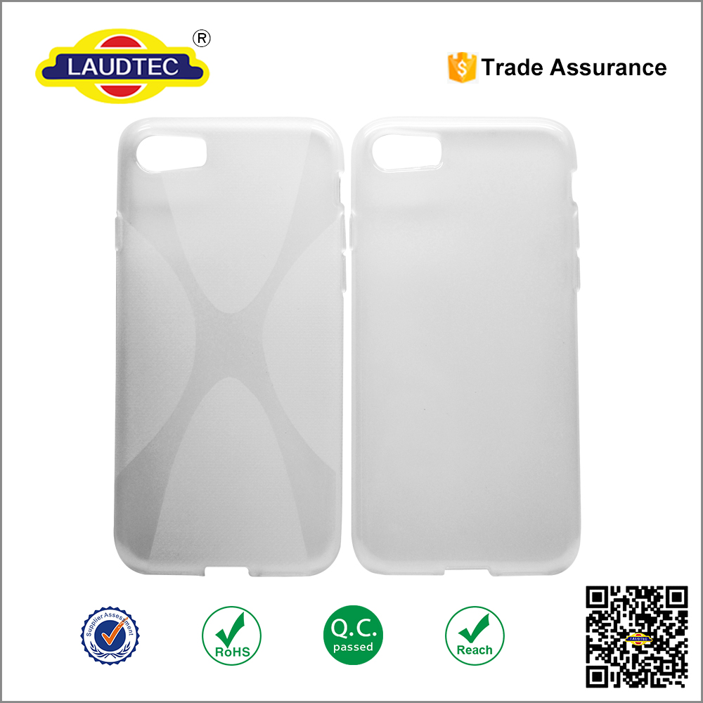 x line tpu cover case for iphone 7 , crystal tpu phone case for iphone 7