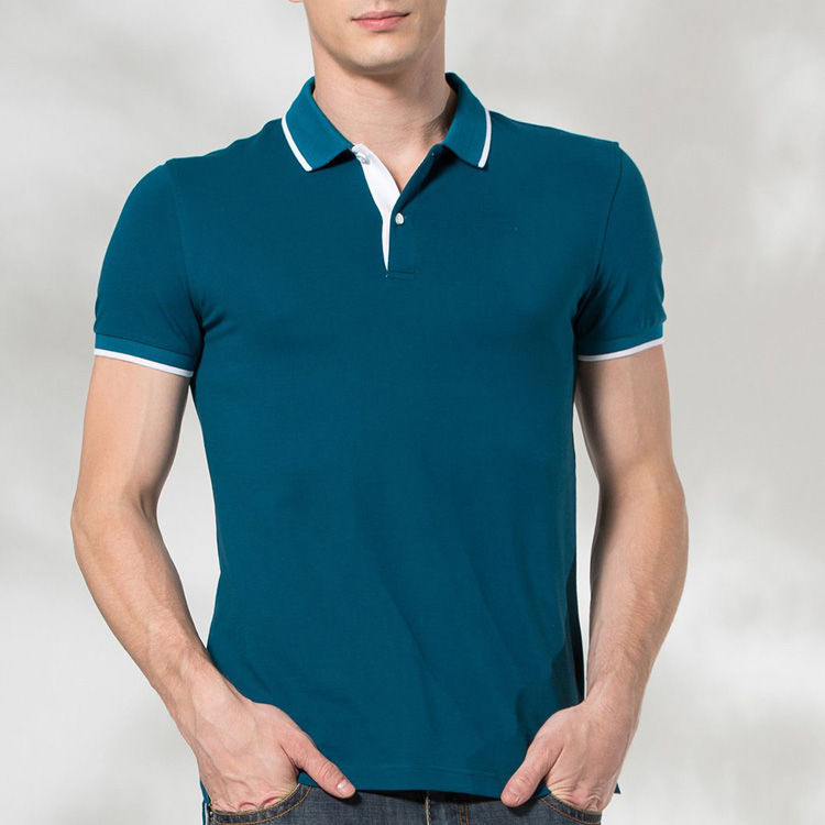 China Suppliers Cheap T-shirt Printing Wholesale Plain 100%Cotton Pique Men's Polo Shirt Slim Fit Men's Polo Shirt