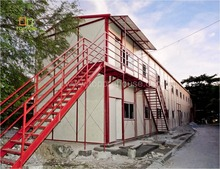 Two- storey prefab portable cheap prefabricated hotel K house