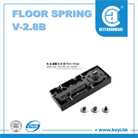 V-2.8B HOT SALE sliding door floor spring , cabinet door closer spring , made in China floor spring with excellent quality