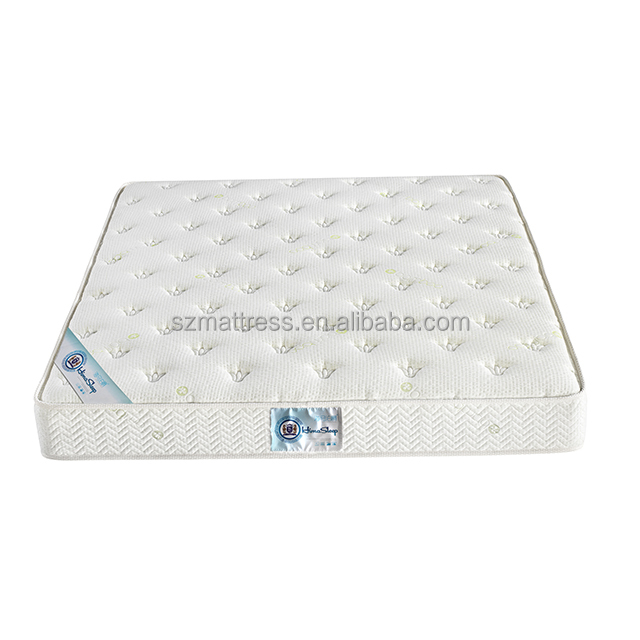 natural latex pocket spring bed mattress tight top with breathable fabric cover queen - Jozy Mattress | Jozy.net
