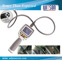 WITSON 2.7'' HD monitor portable industrial endoscope exchangeable 1 flexible tube(W3-CMP2813X)