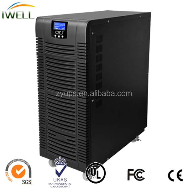 12Kw 3 In 1 Out Online High Frequency 15Kva UPS for CCTV onduleur ups