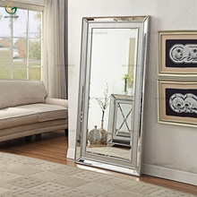 Wall Decoration Moc Croc Wooden Full Length Mirror