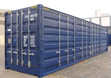 40ft full access side open container with container end door