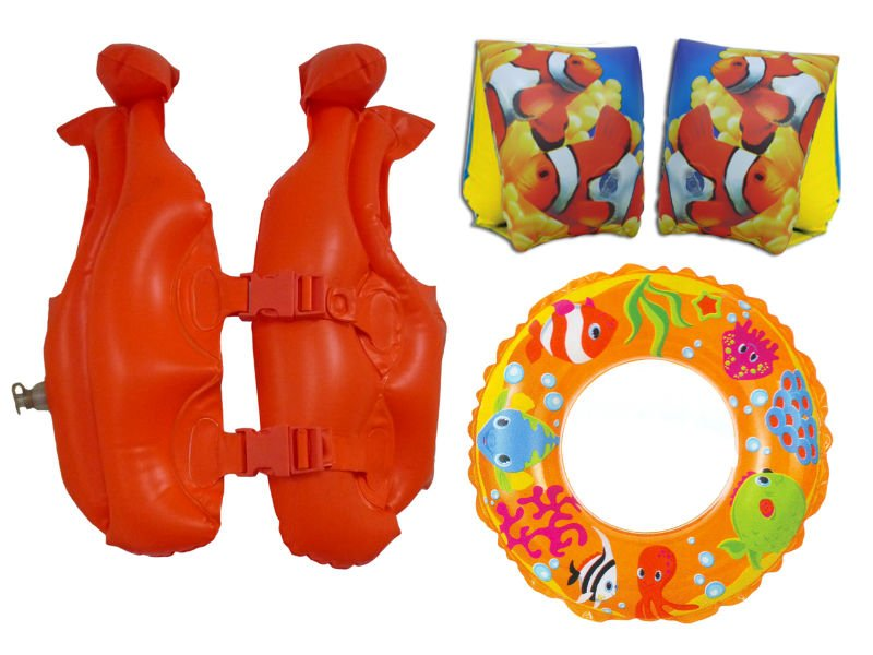 Swim float and inflatables
