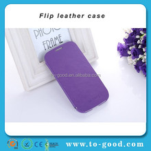 Cheap Promotional China Manufacure Mobile Phone Cover For Samsung Galaxy S3 Case (Purple)