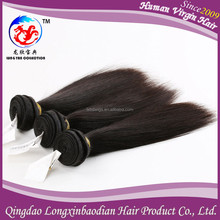 2015 New Style Sliky Straight Natural Color Human Hair Wholesale Cuticle Remy Factory Price Supply 100% Virgin Peruvian Hair