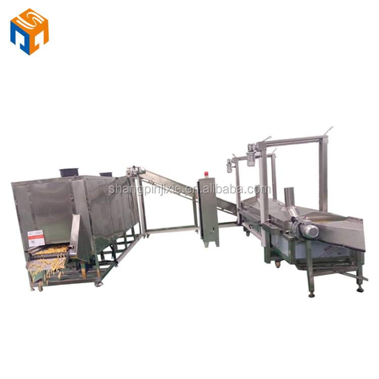 automatic frozen french fries production line price/french fries machinery