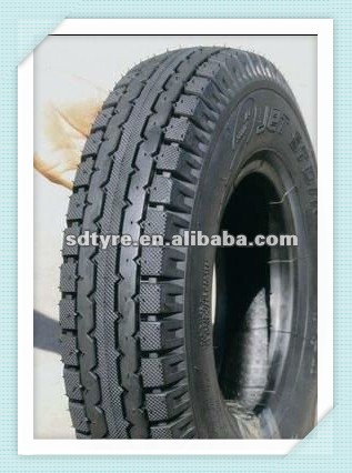 Factory Price 3 wheel Motorcycle Tire 4.00-8 with MRF Quality