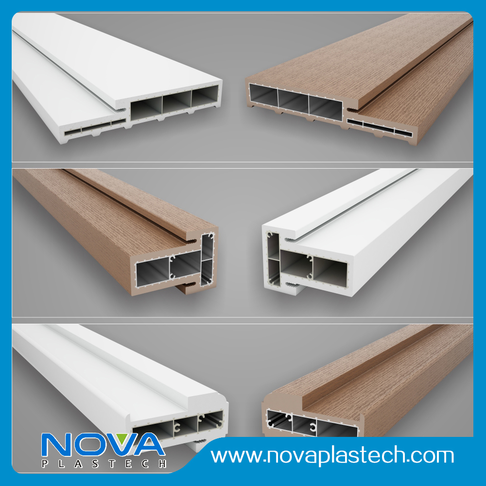Professional Factory PVC Door Frame Components