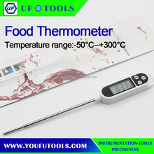 Manufacture Customize KT300 Digital Food Thermometer Waterproof / Multi-usage Pen-Style Pocket Digital Thermometer White