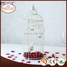 New design hot sale metal wire decorative bird cages