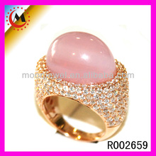 2014 WHOLESALE CHINA FASHION SIMPLE DESIGN 18K ITALIAN GEMSTONE GOLD JEWELRY,BEST PRICE BIG SINGLE STONE FINGER RING FOR WOMEN