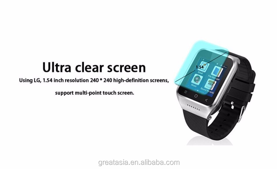 S8 Android 4.4 system Wifi FM for Android Smart watch