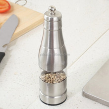 FDA Certification Manual Mill Stainless Steel Salt and Pepper Pill