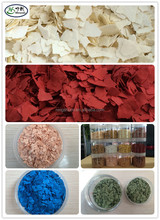 Epoxy Floor Coating Decorative Color Flakes / Chips / Fleck for Granite Wall Paint