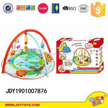 hot item baby kick and play gym mat toys ,baby educational toys