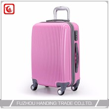 durable abs pc trolley new weigh luggage