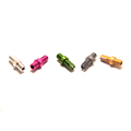China manufacturer custom machine aluminum colored screws