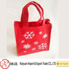Alibaba express new arrvial christmas decoration felt shopping bag made in china