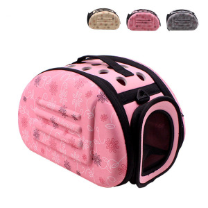RoblionPet Wholesale Breathable airline approved pet rabbit bag, easy traveling carrier fold outdoor dog cat bag