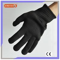 SHINEHOO High Performance Black Army Gloves Cut Resistant