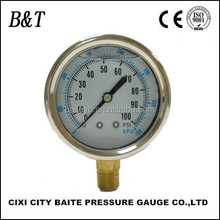 Good quality stainless steel case magnehelic digital fuel pressure gauge