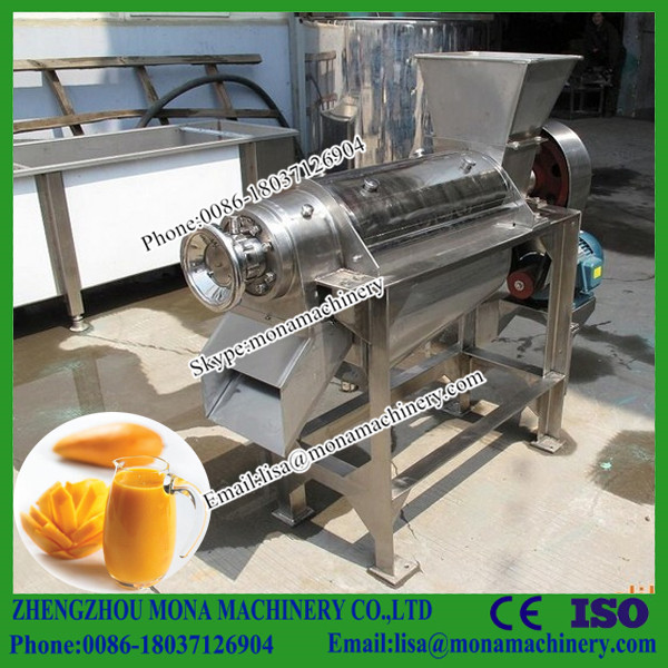 sales Service Provided Mango dragon fruit pulping machine/Industrial Fruit Juice pulper