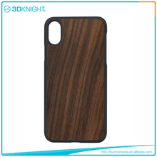 Hot sale wooden phone case for iphone X, Latest Design wooden cases for iphone X