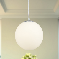 2016 new indoor modern frosted glass led pendant light for dining room