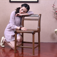 2016 Best Selling Simple Design Luxury Mahogany Furniture Antique Wood Telephone Chair For Wholesale