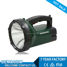 factory directly sale good quality rechargeable rechargeable heavy duty torch light