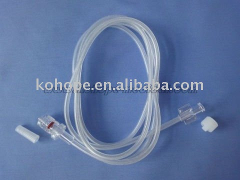Disposable Infusion luer lock extension tube
