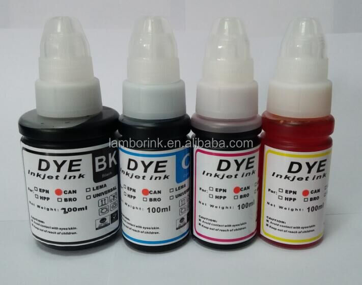 2016 Alibaba new product,100ml refill dye ink,CISS ink for Epson/Canon/HP/Brother