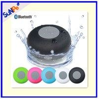 Active Wireless Mini Water Resistant Waterproof Portable Bluetooth Shower Speakers