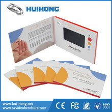 Electronic market trading video greeting card