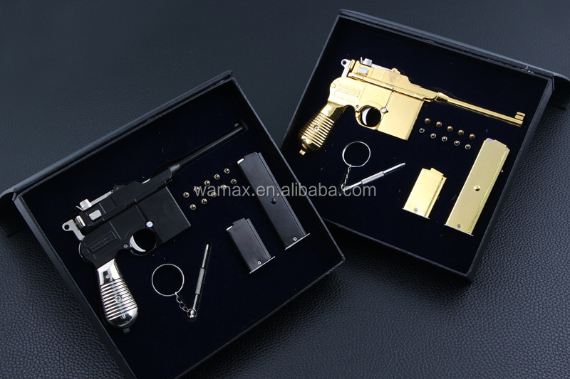 plastic toy 3D Revolver Military Pistol safe scale hand gun model Figures OEM&ODM 1/6 pvc figurine toy manufacturer factory