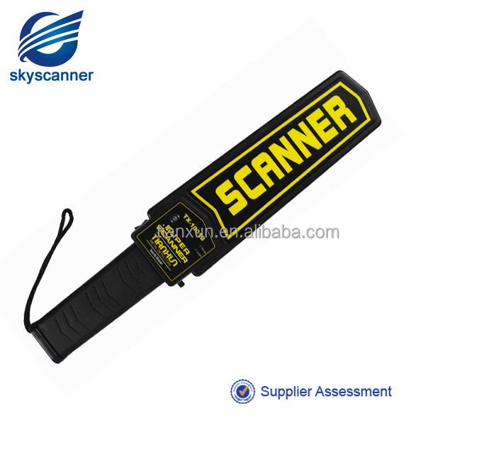 hand held metal detector tx-1001B Electronic Super Wand Metal Detector by Body Scanner