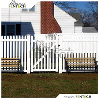 Widely Used Fentech high Standard Elegant White Color Cheap Apartment Fencing