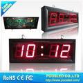 indoor digital signage display \ 7 segment digital clock display \ digital thermostat temperature sensor lcd display