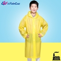 Rainproof design rubber plastic rain coat for kids