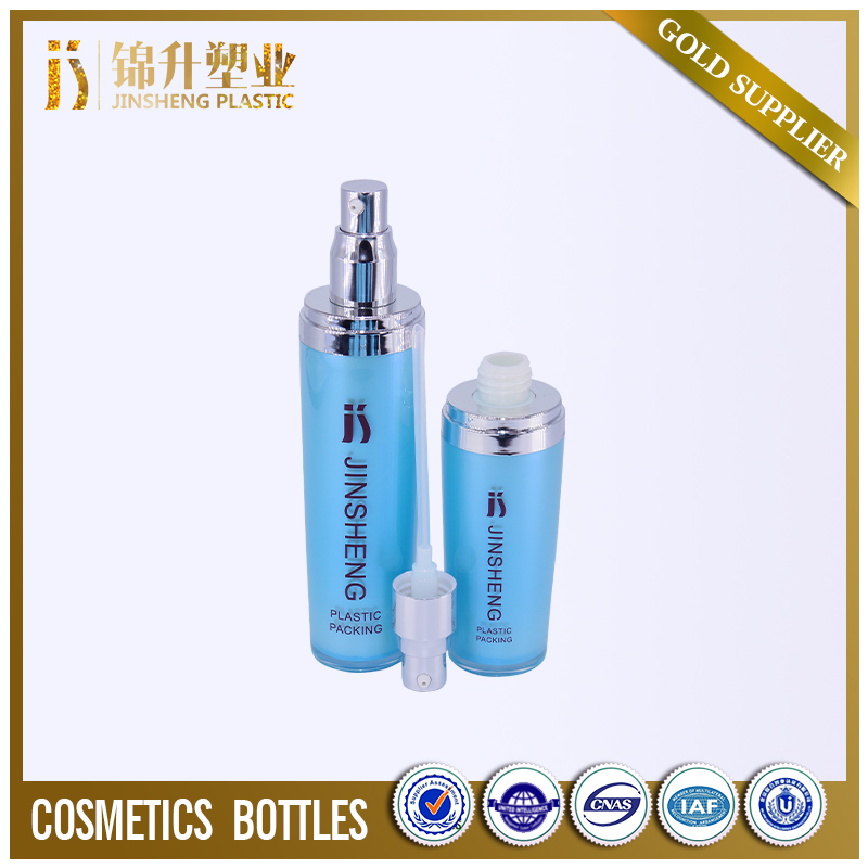 Good quality oem service cosmetic 60ml custom made shaped plastic bottle
