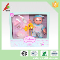 Customize cheap safety cute simulation baby child silicone doll