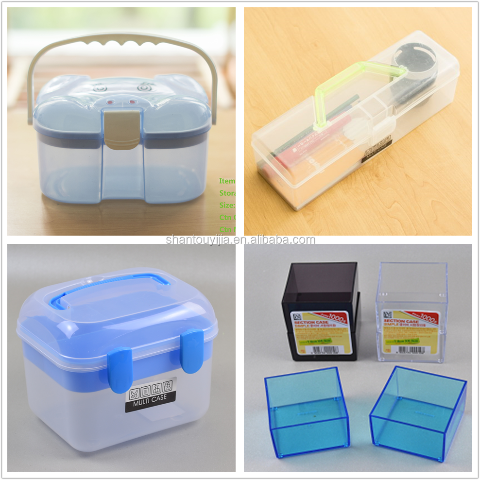 Piggy Single Buckle Multi-use Case plastic storage box with handle
